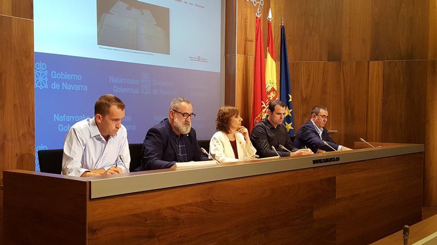 Ana Herrera dice que se han sentado las bases de una nueva política cultural, deportiva y de juventud en Navarra