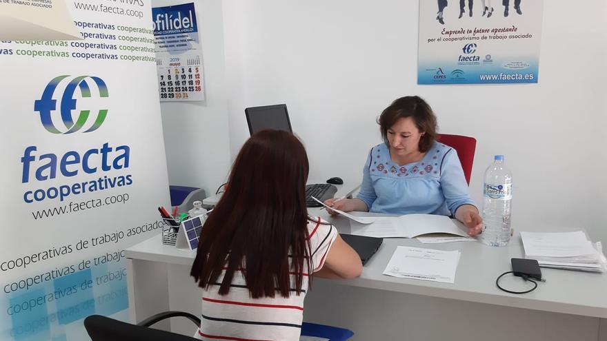 Oficina de Andalucía Orienta de Faecta en Málaga.