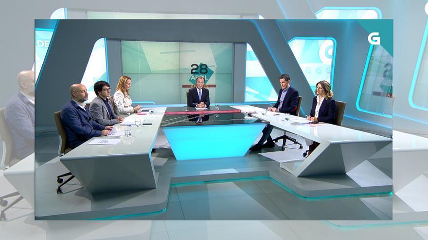 Debate electoral en la TVG previo al 28A, el 16 de abril a las diez de la mañana