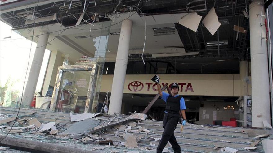 Al menos seis heridos en dos atentados explosivos en el sur de Tailandia
