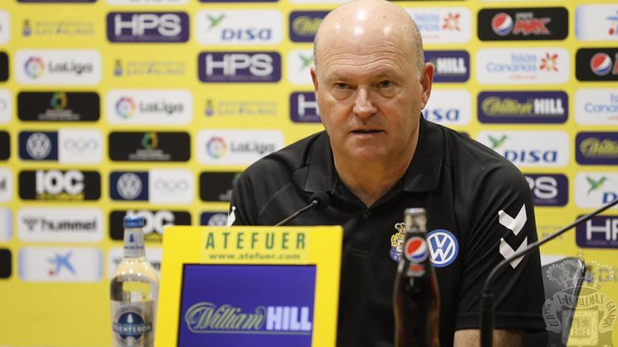 Pepe Mel, en la rueda de prensa previa al partido frente al Racing