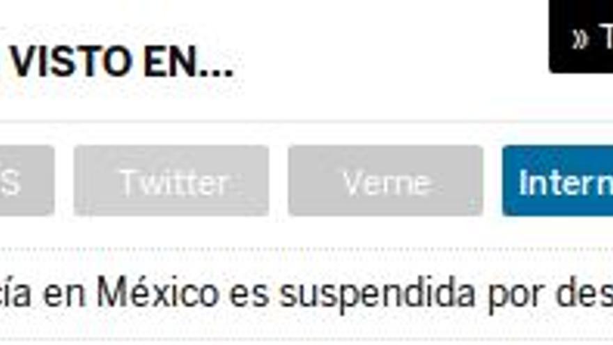 """""""Lo más visto en..."""" en El País"""
