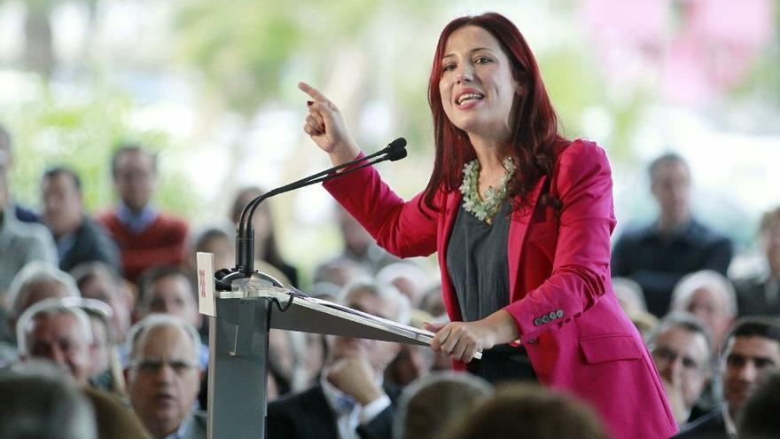 Patricia Hernández, candidata del PSOE a la presidencia de Canarias