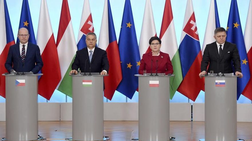El Grupo Visegrado acuerda un plan para reformar la Unión Europea y evitar divisiones