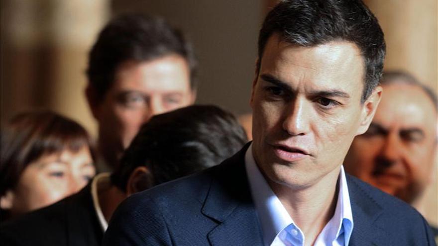Pedro Sánchez advierte a Podemos de que las rupturas no son buenas