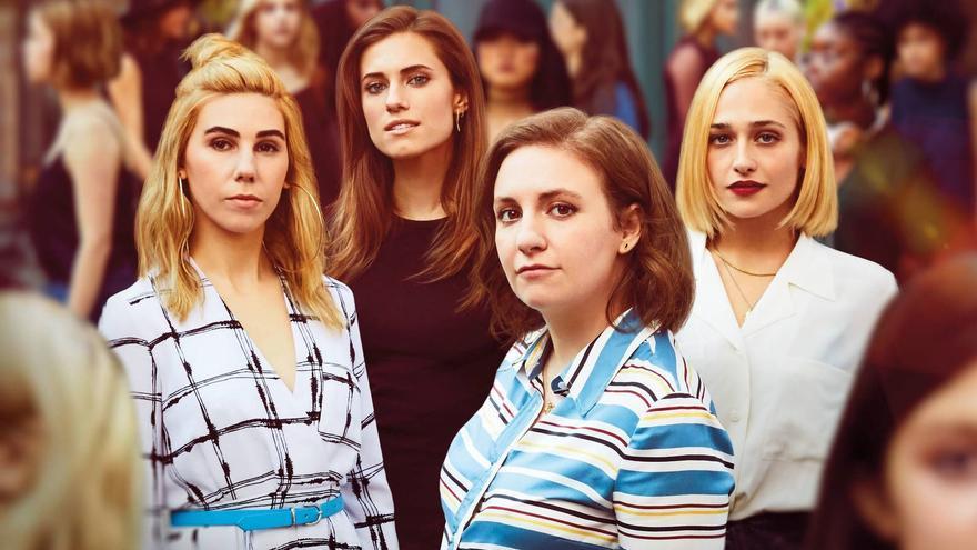 Las protagonistas de 'Girls'