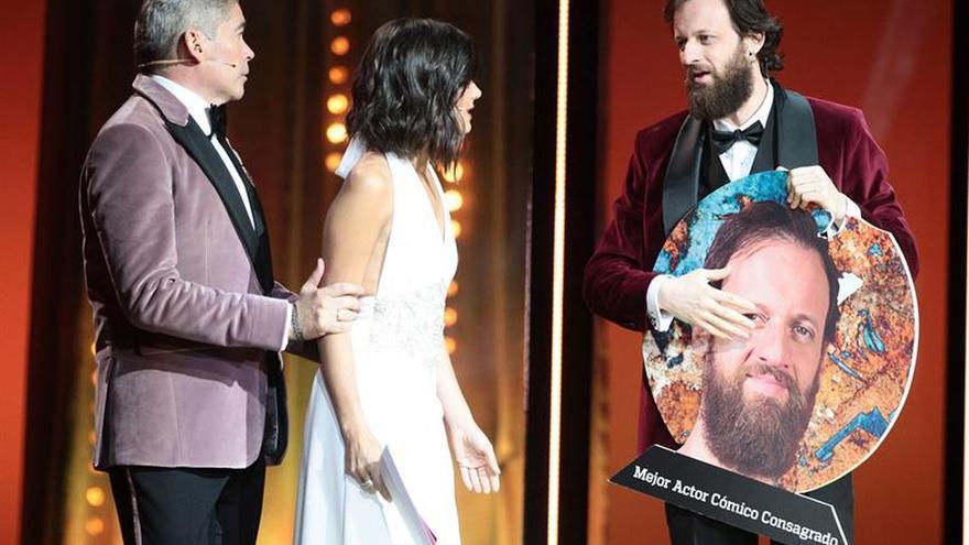 Las mujeres, protagonistas en los premios Forqué, reivindican igualdad