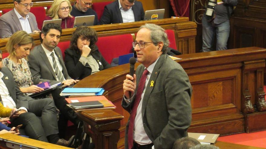 Torra rechaza la inhabilitación firme a Mas, Ortega y Rigau por el 9N