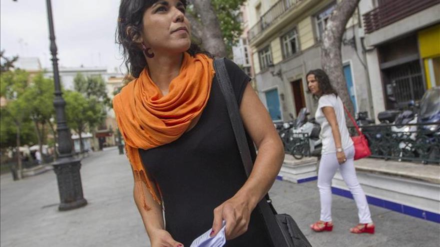 La eurodiputada de Podemos Teresa Rodríguez