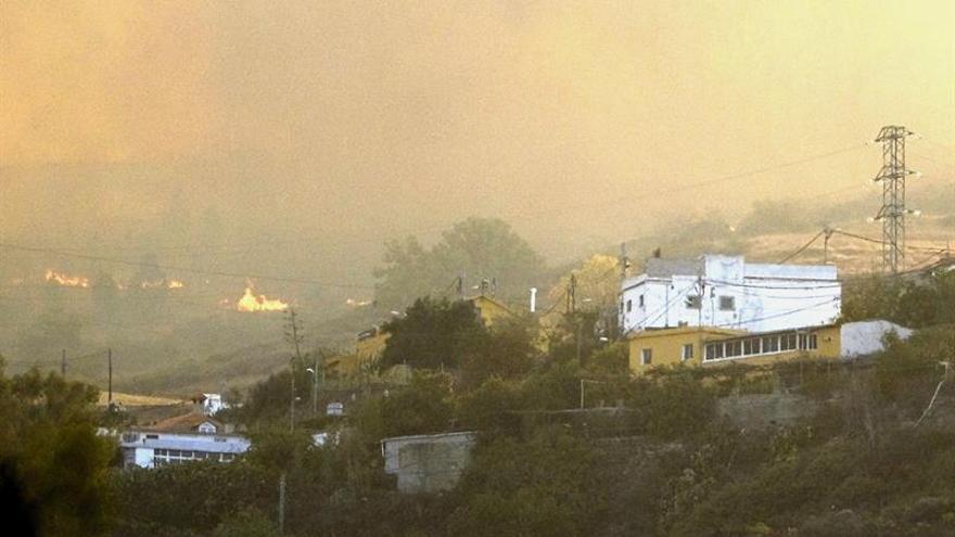 Fuego en La Cumbre de Gran Canaria
