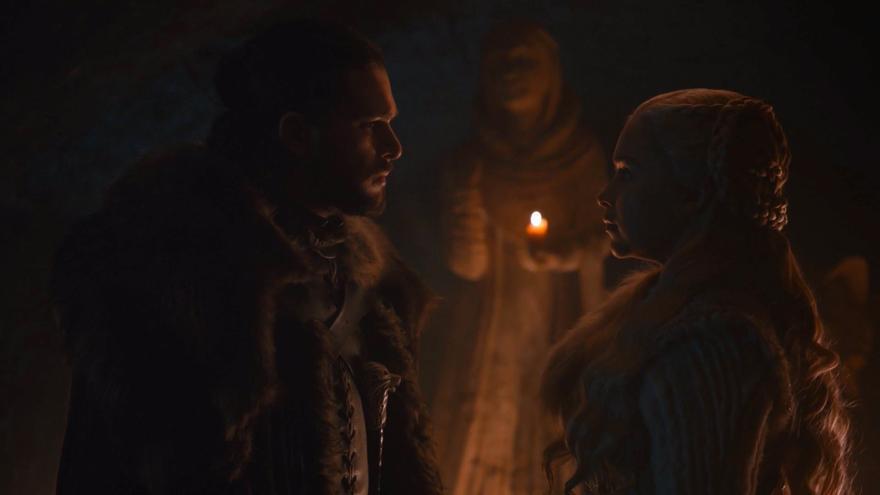 Juego de Tronos 8x02: Jon y Daenerys