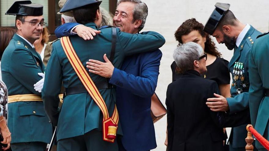 """La Guardia Civil subraya que seguirá en Cataluña y combatirá el """"terror"""""""