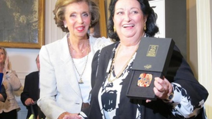 Montserrat Caballé Y Carmen Mateu De Suqué