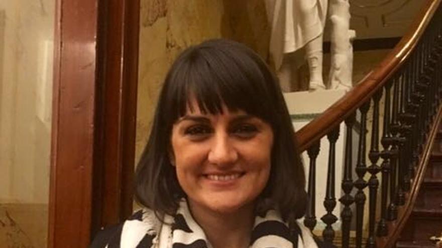 María Gonzalez Veracruz, diputada del PSOE
