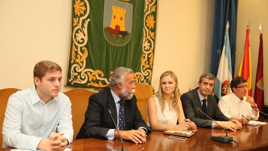 Nacho Hernando, Jaime Ramos y Elena de la Cruz en Talavera / Foto: JCCM