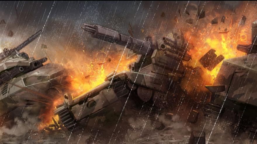 Un tanque autónomo ruso rompe la barrera de defensa norteamericana en 'Silent Run'