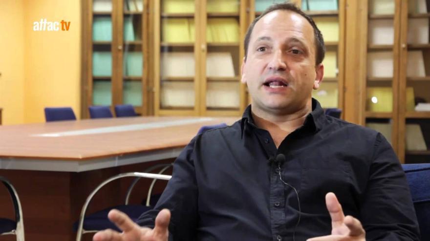 El profesor de Derecho y candidato de Podem, Rubén Martínez Dalmau