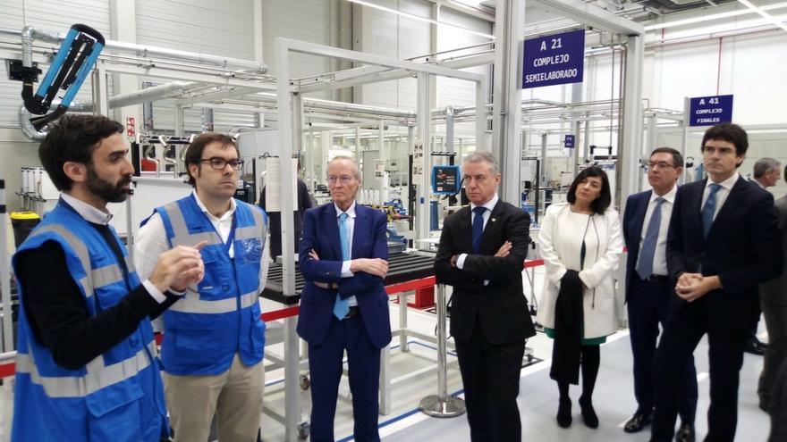 ITP Aero inaugura en Derio (Bizkaia) su planta de Externals tras una inversión de más de 14 millones
