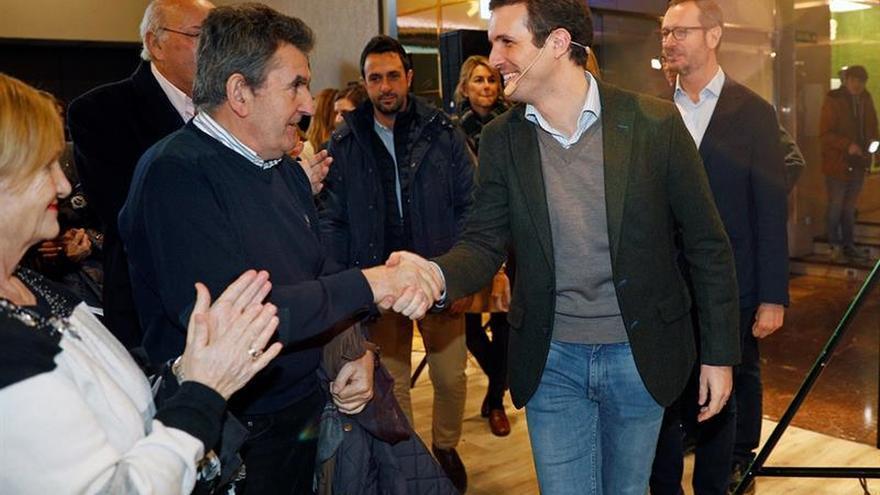 Casado, Ceniceros y Gamarra alcanzan un acuerdo sobre candidatos PP Rioja