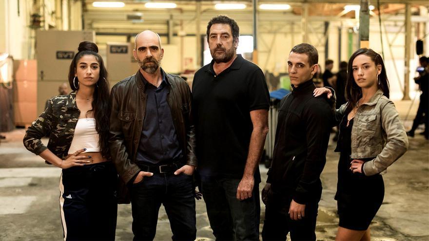 Foto promocional de la película 'Hasta el cielo'