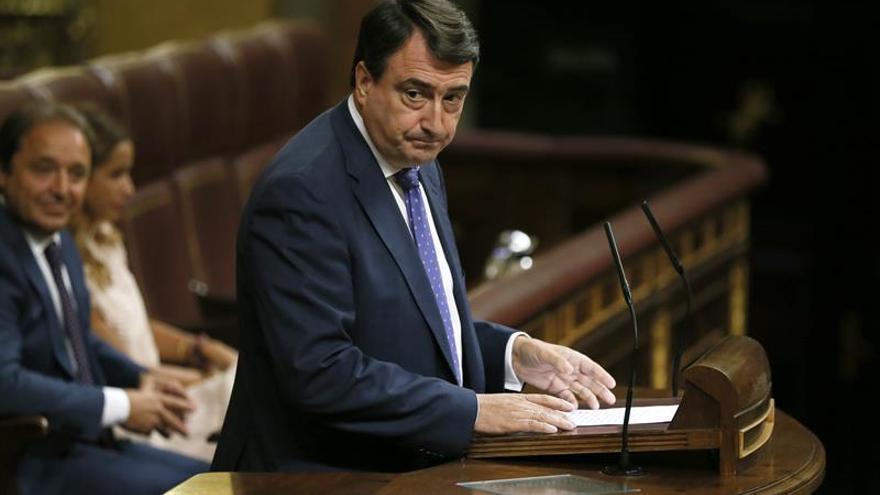 PNV insta a PP, PSOE, Podemos y C's a demostrar su patriotismo con desbloqueo