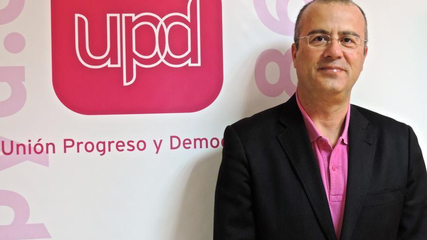 Miguel Ángel González Suárez, candidato de UPyD a la Alcaldía de Santa Cruz.