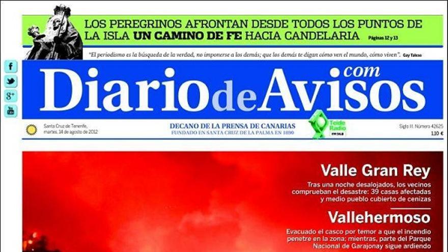 De las portadas del día (14/08/2012) #3