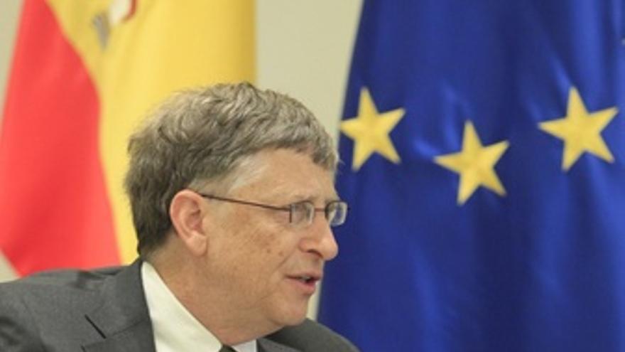 Bill Gates En La Moncloa