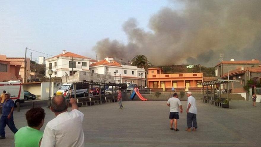 Del incendio en La Gomera #2
