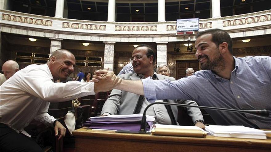 Diputados del griego Syriza llaman a la unidad del partido, pese a las diferencias