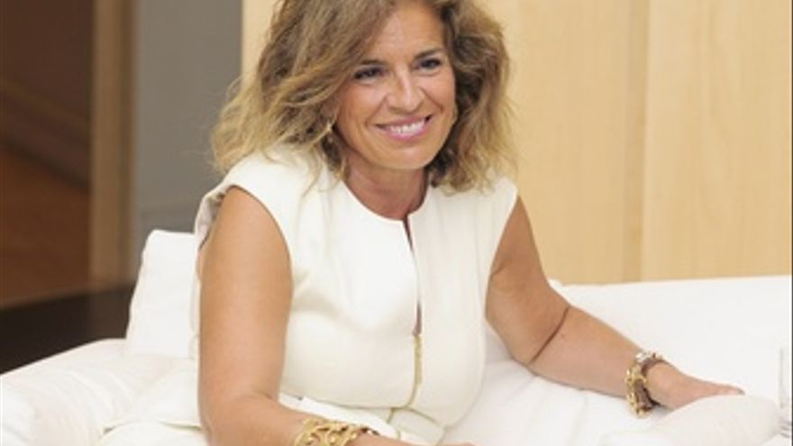 Ana Botella. Alcaldesa De Madrid.
