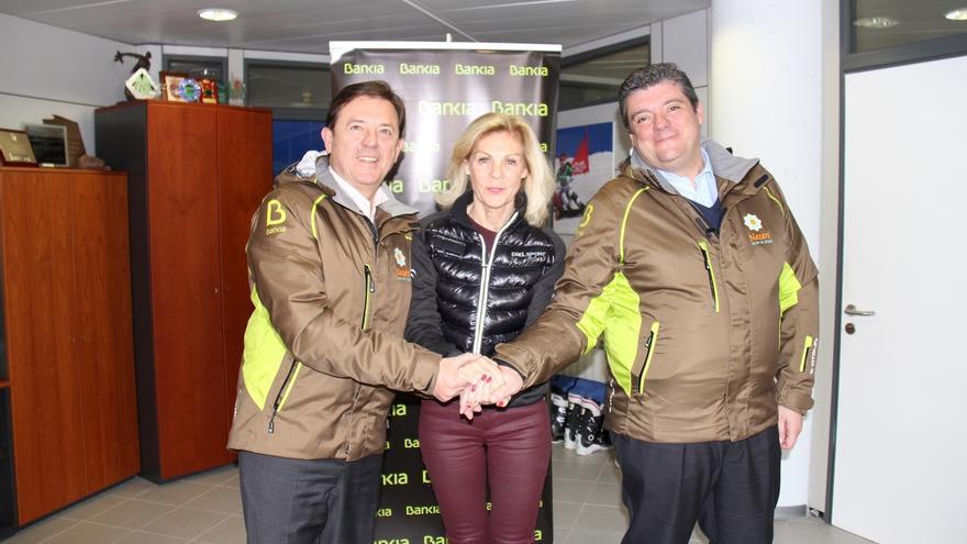 Bankia y Cetursa impulsan el esquí adaptado y la sostenibilidad de la estación invernal de Sierra Nevada