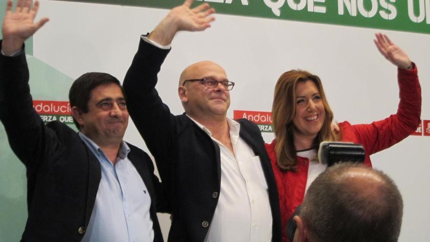 """Susana Díaz pide para Jaén un alcalde """"sensible"""" como Manuel Fernández (PSOE) frente a un regidor """"a palos"""""""