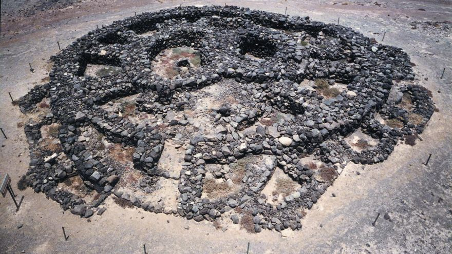 BIC del poblado del Agujero y necrópolis de La Guancha en Gáldar