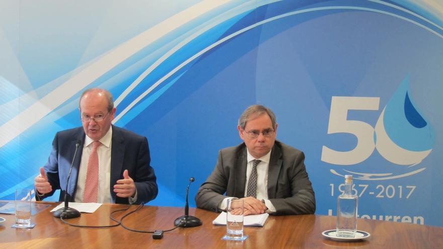 Consorcio Aguas Bilbao Bizkaia aportó 113,7 millones de euros al PIB vasco en 2015 y contribuyó a mantener 1.307 empleos