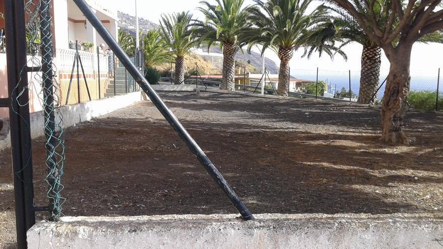 En la imagen, parque infantil de Mirca.