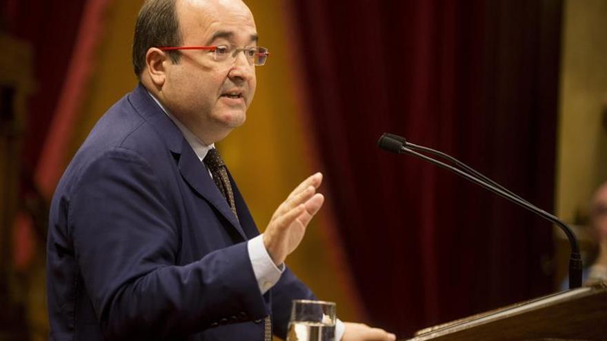 Iceta ve agotada la legislatura y cree que Puigdemont debería asumir el 1-O