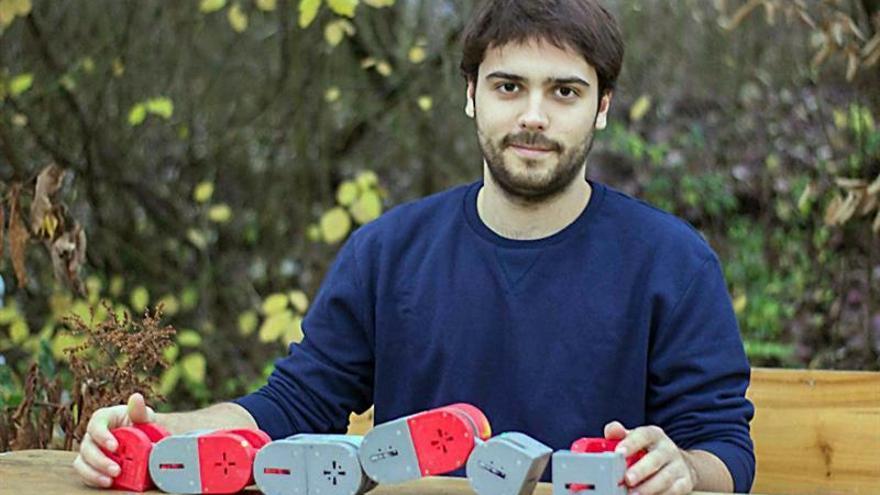 Un estudiante catalán gana el premio Hackaday con un robot de rescate