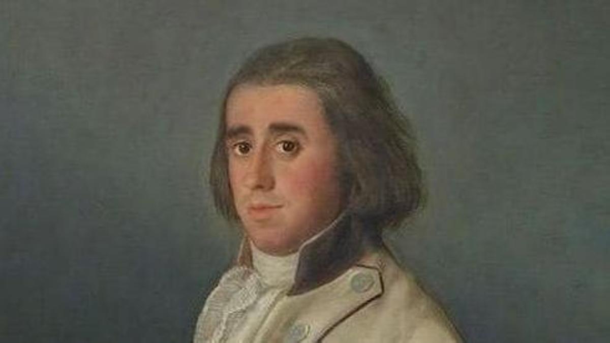 Retrato de Valentín Belvís de Moncada, de Francisco de Goya.
