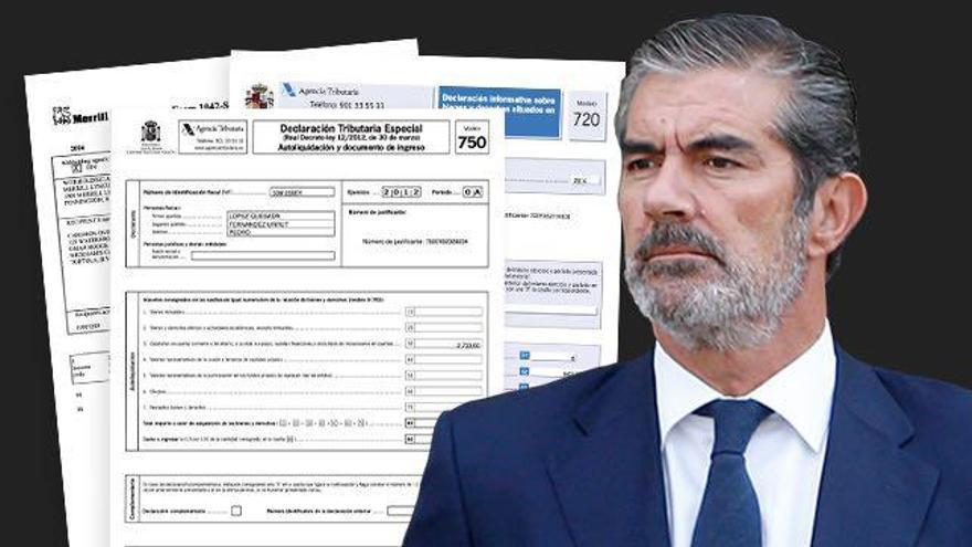 Pedro López Quesada, íntimo del Rey, regularizó un millón de euros junto a sus hermanos en la amnistía