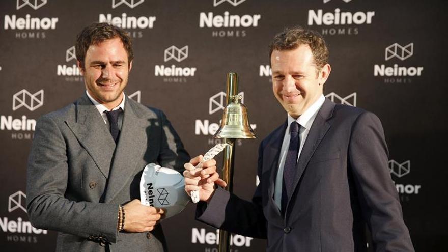 Neinor debuta en bolsa con una revalorización del 7,84 por ciento