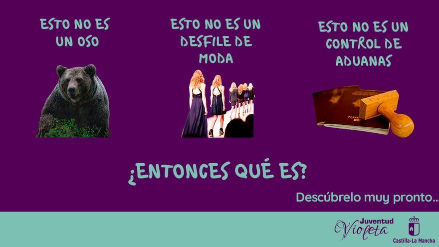 """""""Esto no es un oso"""", nueva campaña de Castilla-La Mancha contra la violencia de género"""
