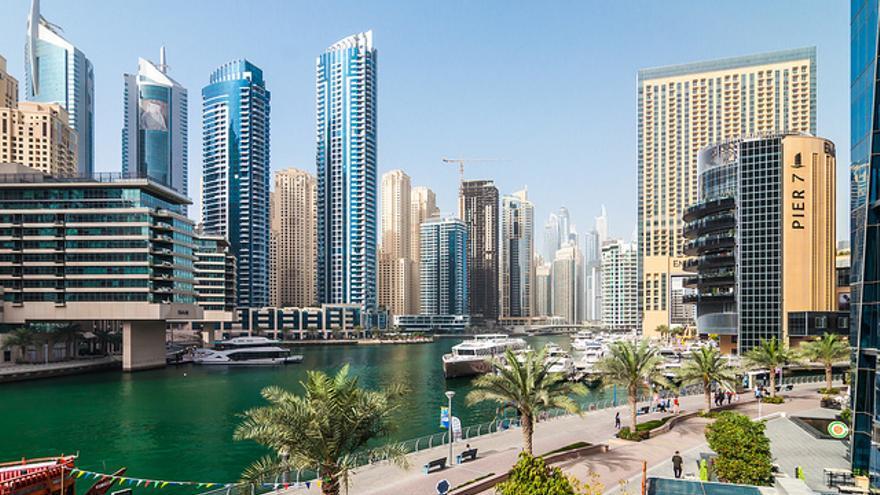 La Marina de Dubai es una de las zonas de expansión de la ciudad. Tobias Scheck