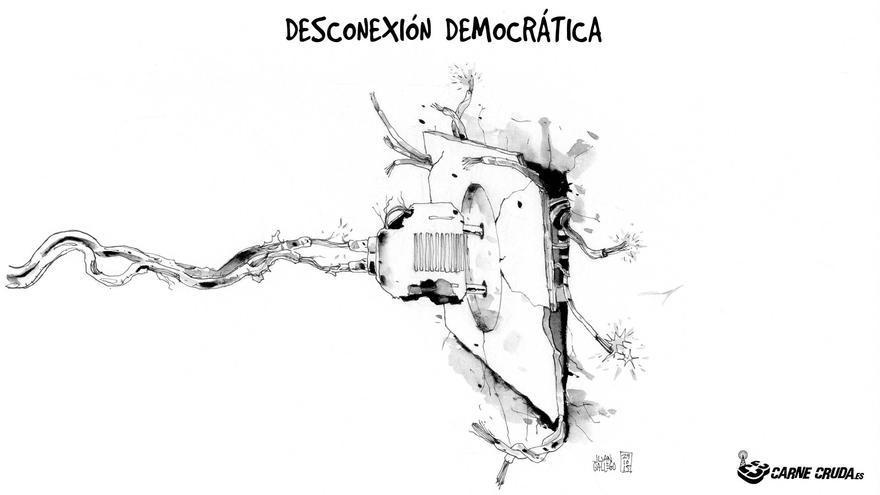 Desconexión democrática