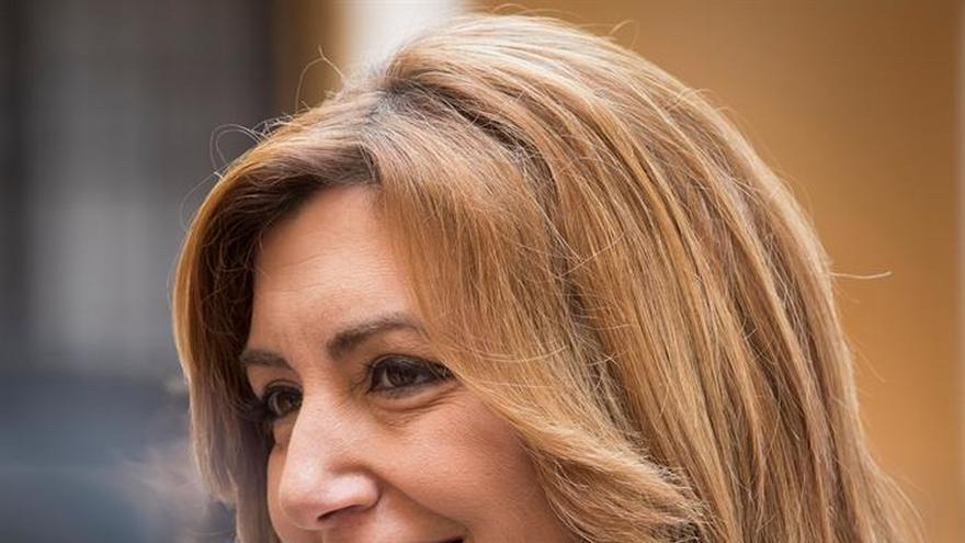 """Susana Díaz dice que los madrileños """"desearán olvidar cuanto antes"""" la etapa de Aguirre"""