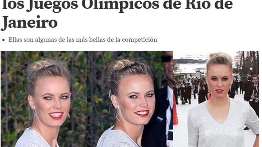 Los medios priman el carácter sexy de las deportistas por encima de sus aptitudes deportivas.
