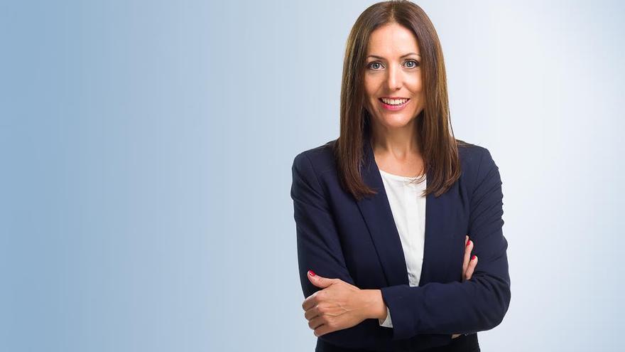 Cristina Tavío candidata por el PP a la Alcaldía de la capital tinerfeña.