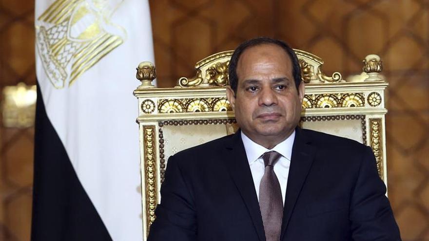 Al Sisi reitera el apoyo de Egipto a la integridad territorial de Libia