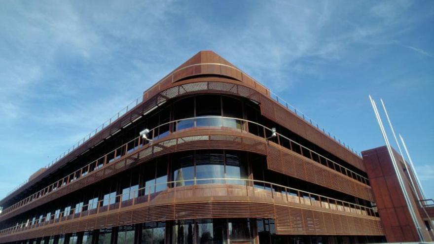 El IPTS tiene su sede en el Edificio Expo, en la Isla de la Cartuja de Sevilla.