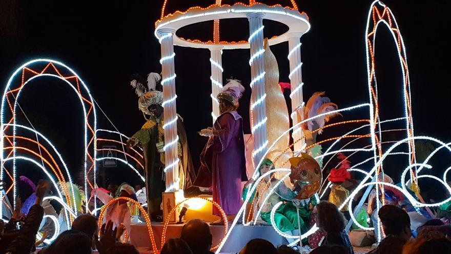 Cabalgata de los Reyes Magos de Santa Cruz de La Palma.